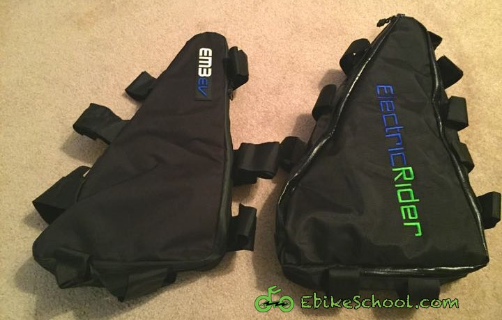 Review: Triangle Frame Battery Bag by Electric Rider